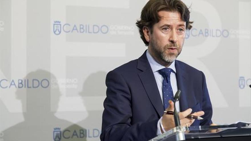 Carlos Alonso, durante una rueda de prensa celebrada la pasada semana