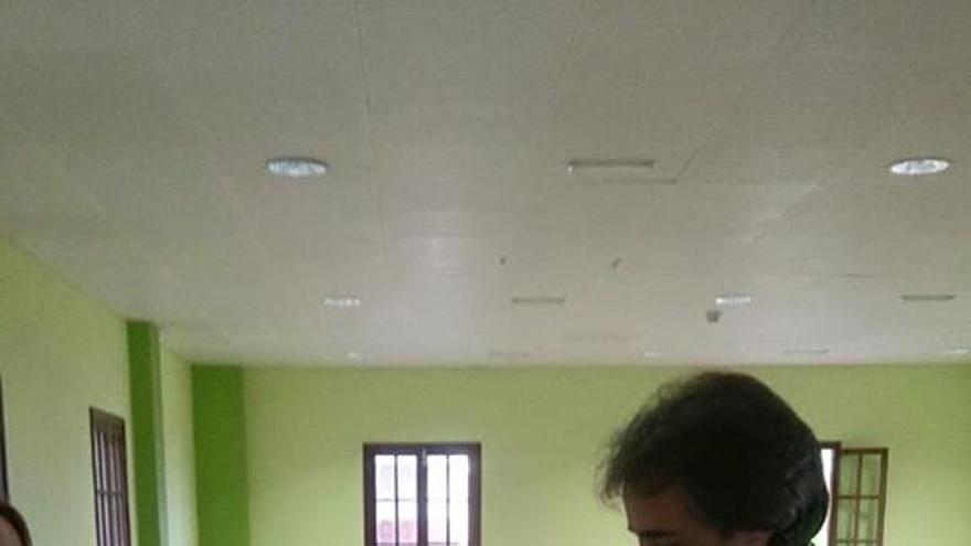 Francisco Paz, candidato del PSOE a la Alcaldía de San Andrés y Sauces, ha ejercido su derecho a voto.