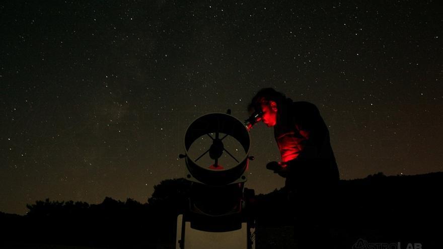 Un observatorio astronómico.