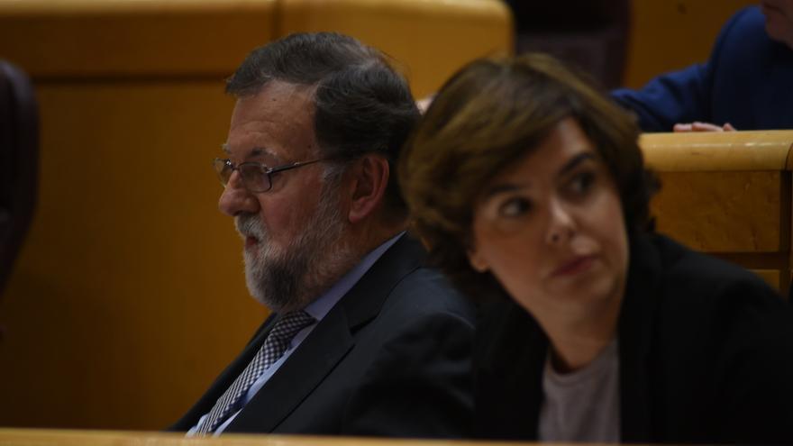 """Santamaría da la bienvenida a ERC """"a la democracia"""" en el Senado, porque en el Parlament la oposición """"no puede hablar"""""""