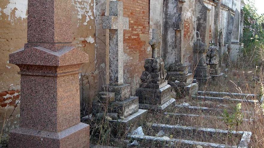 Cementerio británico en Huelva.