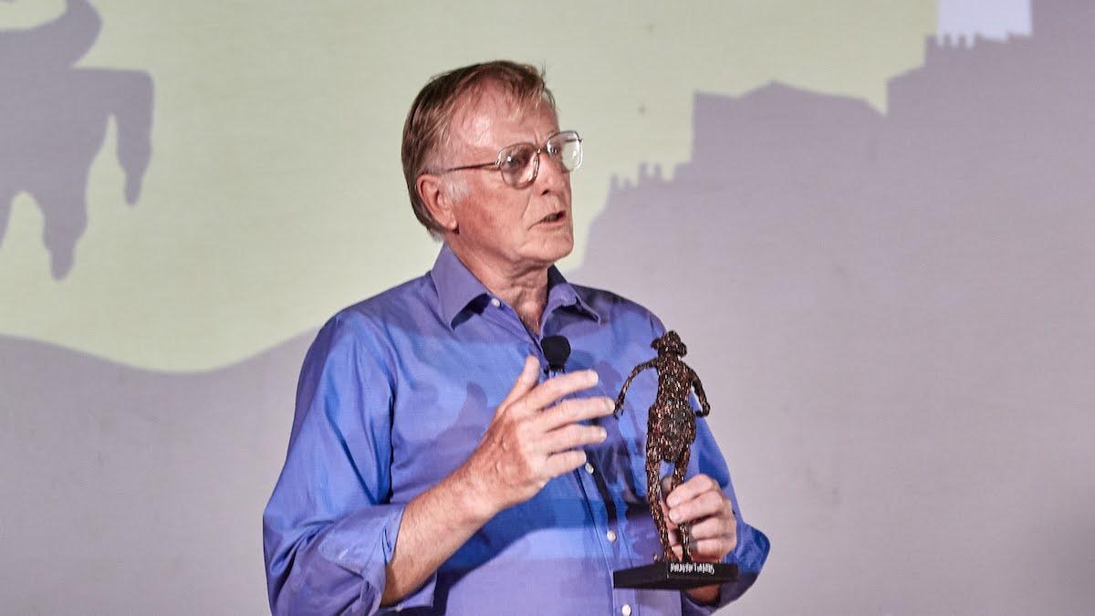 El productor británico Peter Beale.