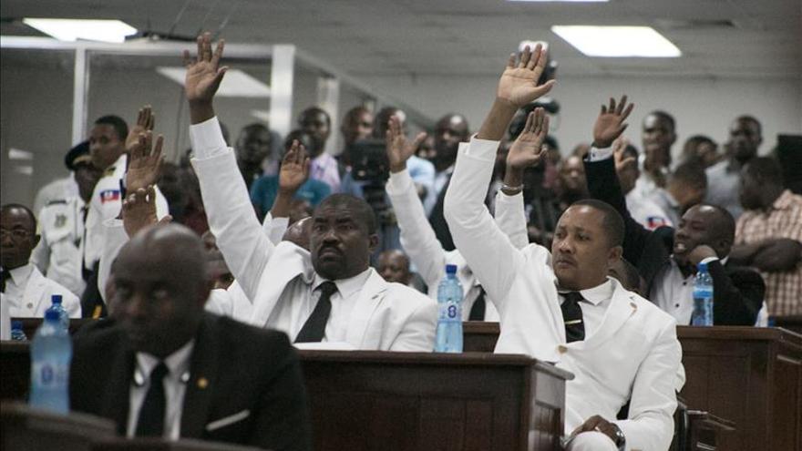 El Parlamento hará segunda votación para elegir al presidente interino Haití