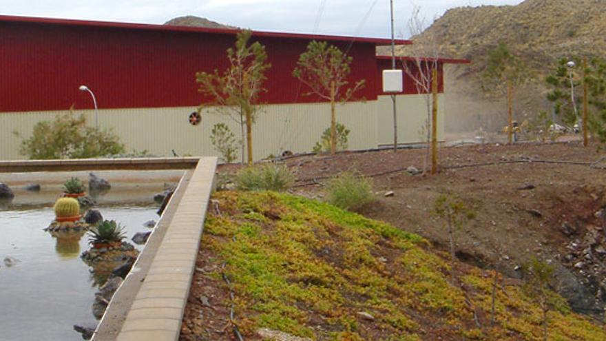 Planta de Residuos de Piedra Negra en Xixona