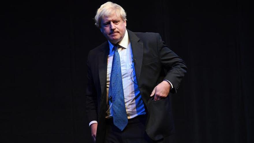 """Boris Johnson dice que el borrador del acuerdo del """"brexit"""" es """"inaceptable"""""""