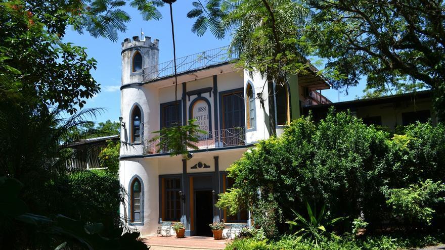 Hotel del Lagom San Bernardino, colonia alemana don de se alojó Josef Mengele