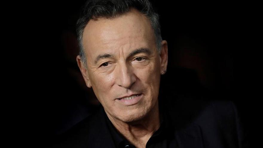 Bruce Springsteen, orgulloso padre de un bombero de Nueva Jersey