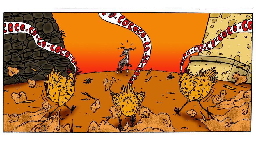 'El rock del galgo', de Fabio Perianes Santos