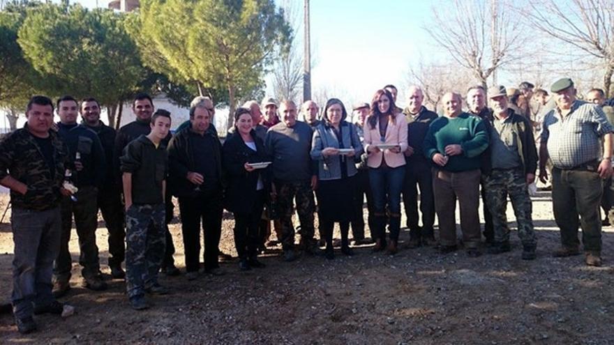 Cacería en Carrión de Cva. con todos los altos cargos de Montes que hicieron la Ley de Caza, Castilla-La Mancha / Foto: La Tribuna de Ciudad Real