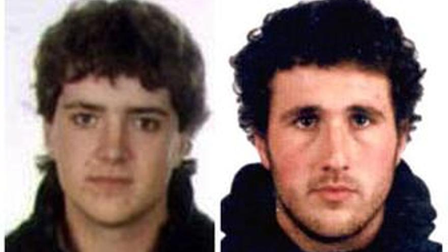 Los dos detenidos este domingo en Francia son Iurgi Mendinueta y Joanes Larretxea