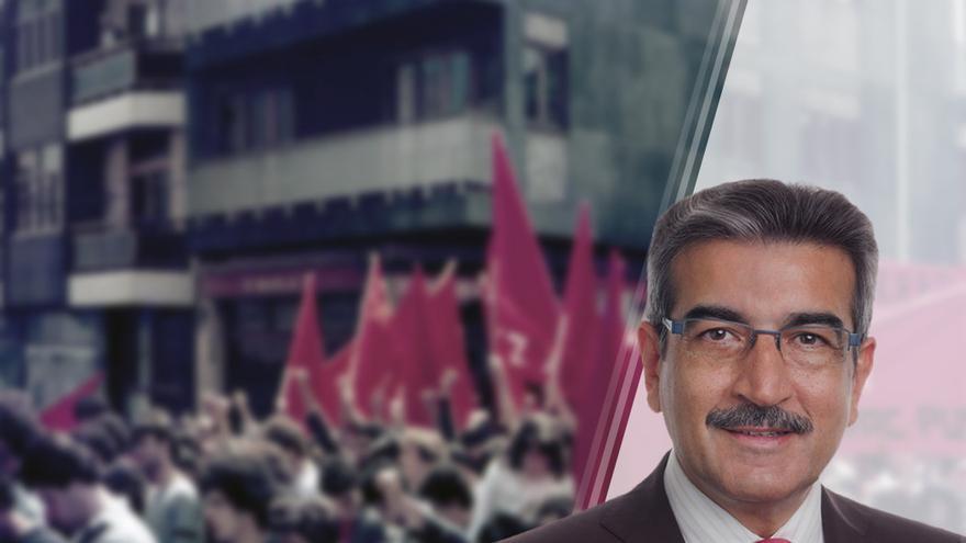 Román Rodriguez, Secretario General de Nueva Canarias.