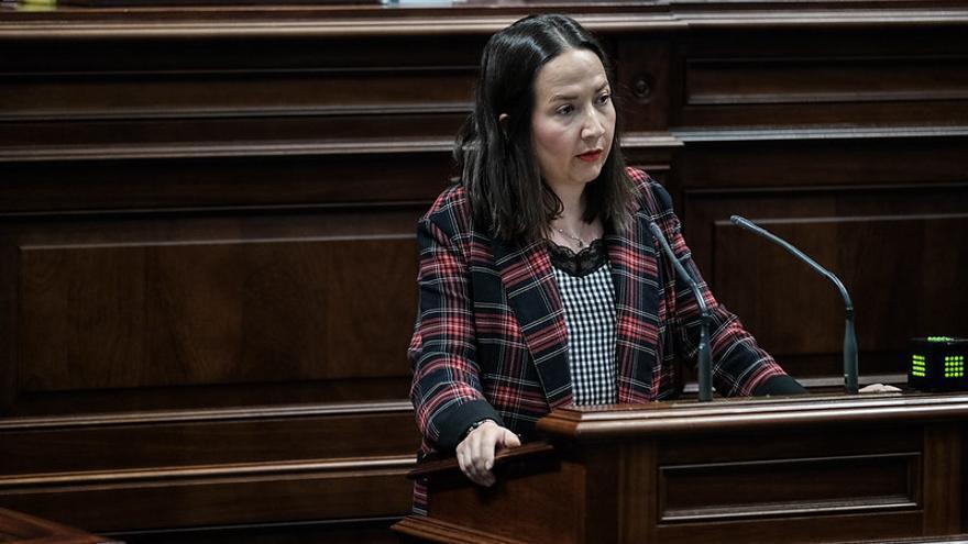 Lorena Hernández Labrador, diputada del PP por La Palma en el Parlamento de Canarias.