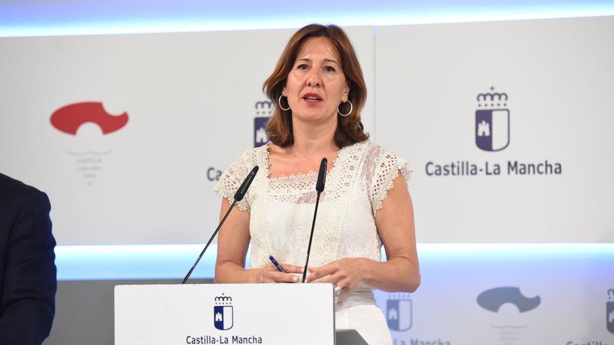 La portavoz del Gobierno castelllanomanchego, Blanca Fernández