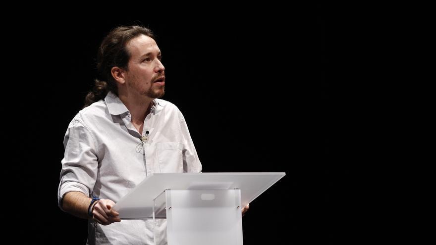 """Pablo Iglesias confía en los indecisos y en la """"remontada"""" y recuerda que el CIS este año """"no ha estado muy fino"""""""