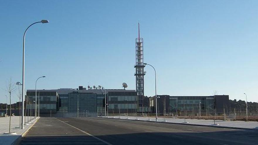 Edificio Castilla-La Mancha Televisión / Foto: trabajadorescmt.com