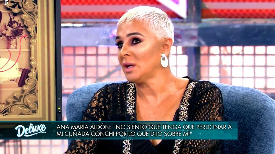 Ana María Aldón, en 'Sábado deluxe'