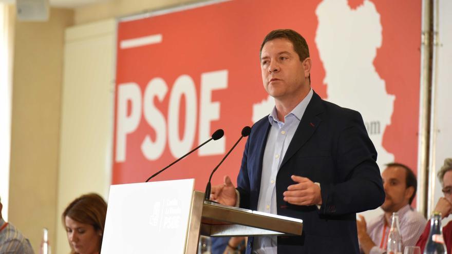 Emiliano García-Page en el Comité Regional del PSOE de Castilla-La Mancha