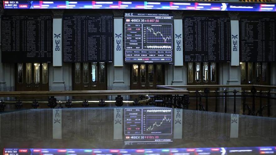 El IBEX sufre un varapalo del 1,32 % en la apertura por los datos de China