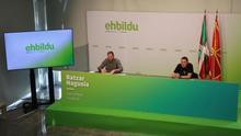 Asamblea General de EH Bildu refrenda, con el 91,9%, las candidaturas para el 12J que encabezan Iriarte, Agirre y Otero