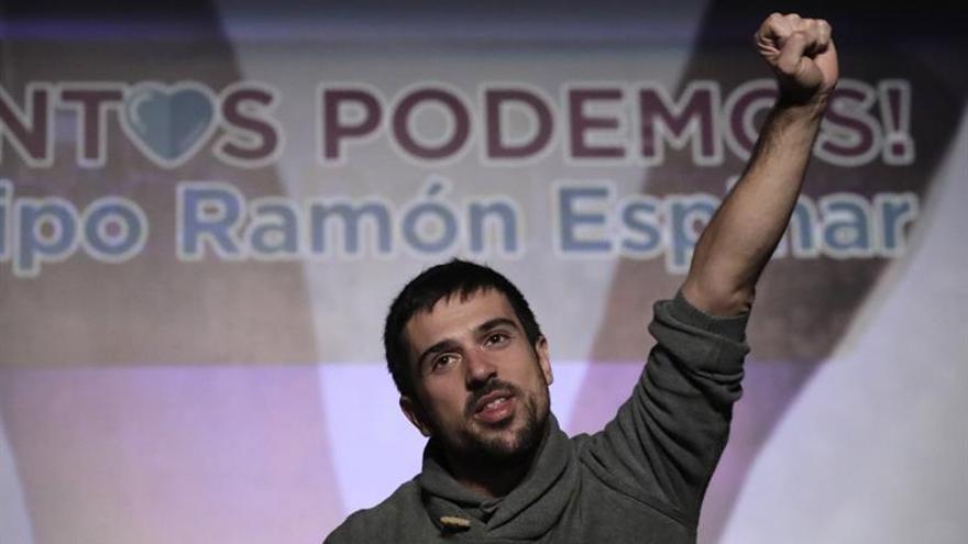 Ramón Espinar, afín a Pablo Iglesias, gana las primarias de Podemos en Madrid