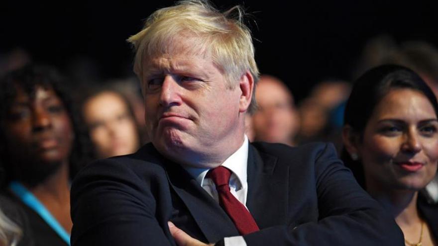 El primer ministro británico Boris Johnso.