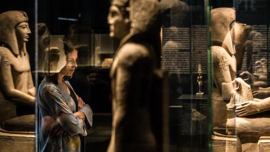Los faraones egipcios muestran en CaixaForum Barcelona su faceta más humana