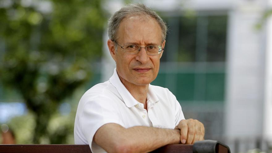 Francisco Louça, político del Bloque de Izquierdas (BE) y economista. Foto: MARTA JARA