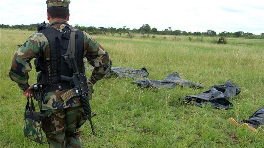 Dos guerrilleros murieron en un enfrentamiento en abril pasado. /EFE