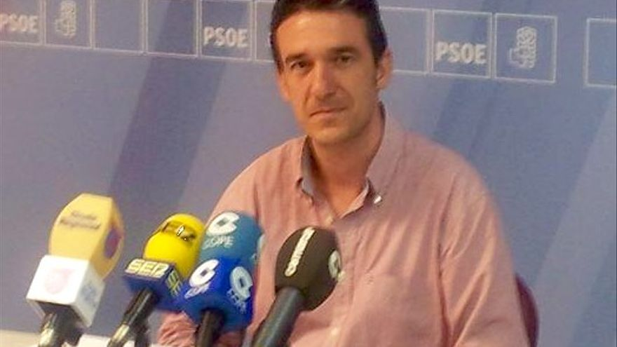El exsecretario general del PSOE de Lorca, Daniel Martínez
