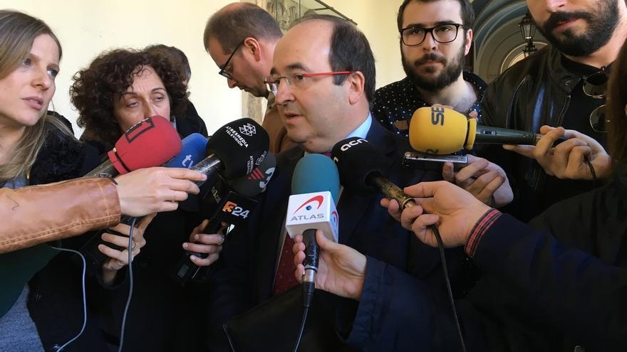 """Iceta (PSC) descarta una gran coalición y critica """"la falta de voluntad"""" de Iglesias"""