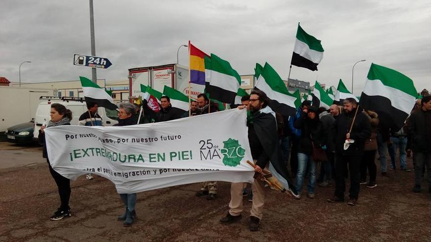 25 marzo marcha Extremadura Merida
