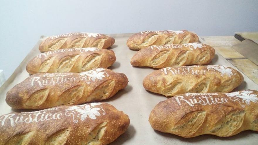 Pan elaborado en Panadería Artesanal Rústica de Los Yébenes (Toledo)