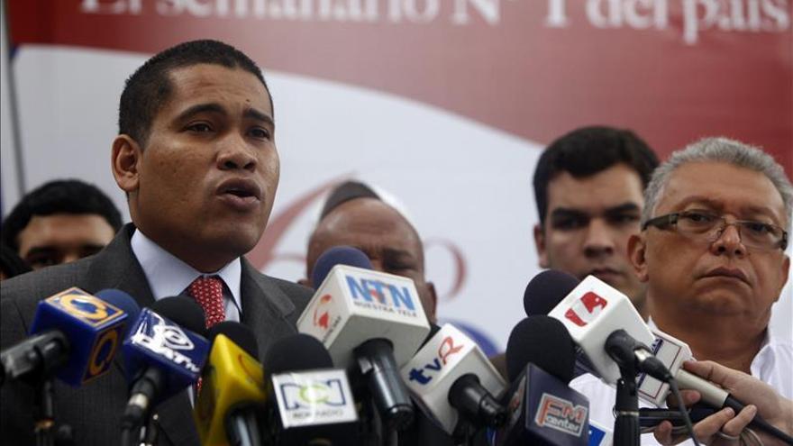 El editor venezolano Leocenis García, en libertad tras cuatro meses de detención