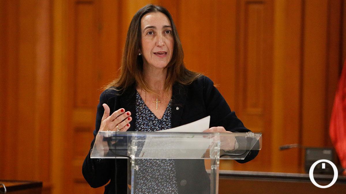Paula Badanelli, portavoz de Vox