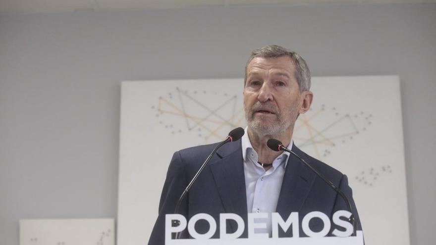 """El nuevo líder de Podemos Madrid, el ex Jemad Julio Rodríguez, promete un partido """"más plural por dentro"""" y unido"""