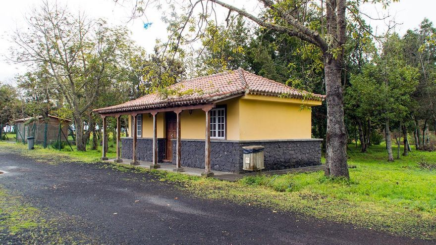 Parque de La Laguna del municipio de Barlovento.