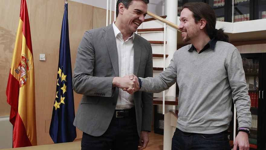 """Iglesias cree que Sánchez """"prefiere"""" un gobierno de coalición con Podemos y promete ser """"leal"""""""