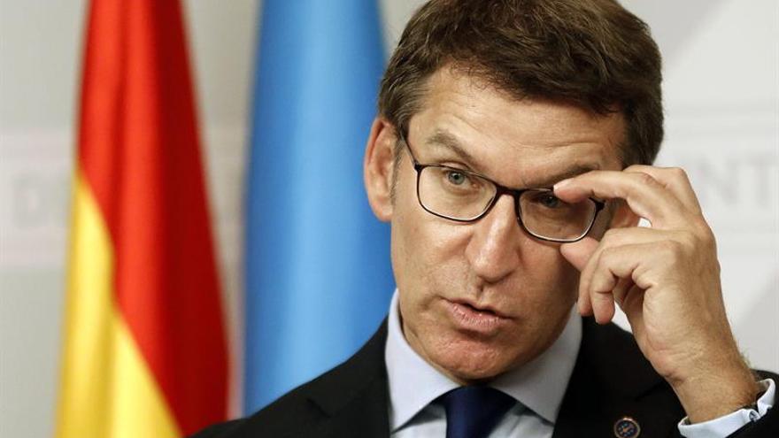 Feijóo cree que la decisión de Interior protege los derechos de los catalanes