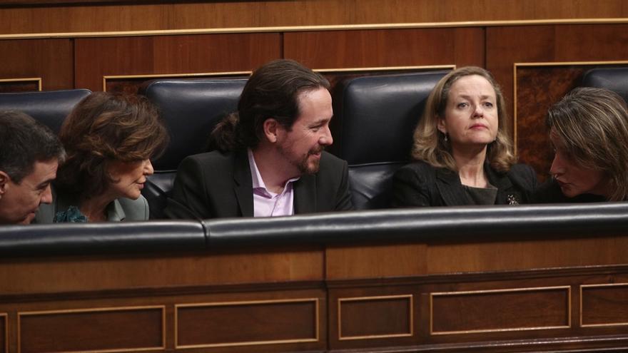 Calviño e Iglesias acompañarán a la portavoz Montero en la rueda de prensa del Consejo de Ministros