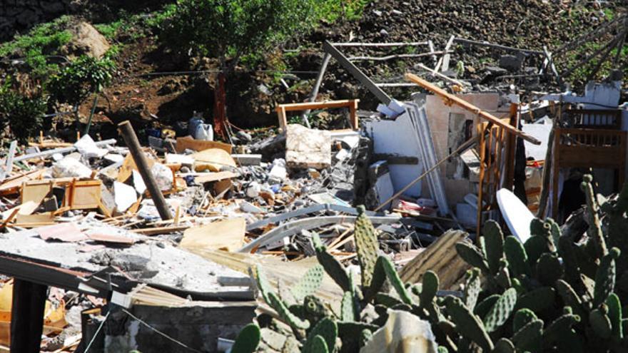 Del estado de la vivienda tras la explosión #6