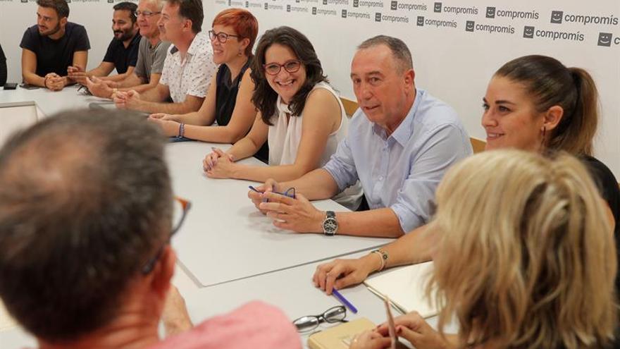 """Oltra agradece a Podemos la """"generosa"""" oferta de alianza que hizo a Compromís"""