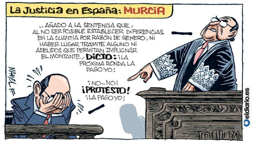 La justicia en España: Murcia