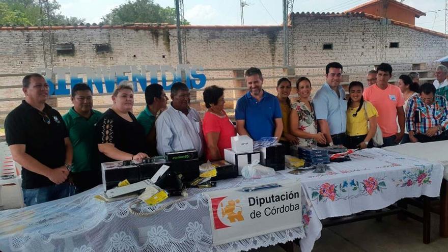 Visita de la delegación a Bolivia.
