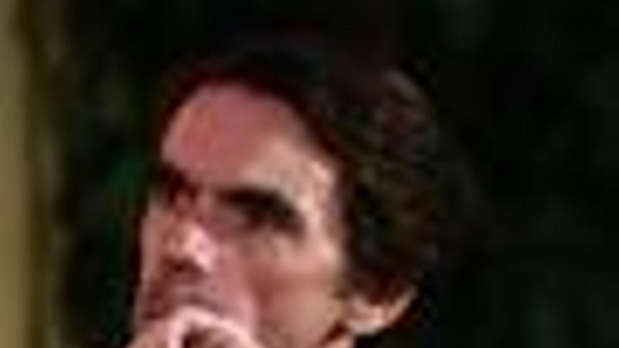 Plano serio de José María Aznar