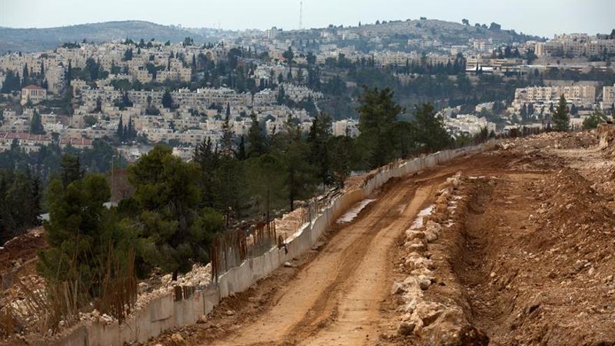 Vista general del asentamiento de Ramat Shlomo, Palestina, hoy, 23 de diciembre de 2016.