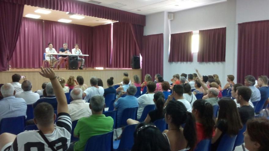 Asamblea en Gamonal (Toledo)