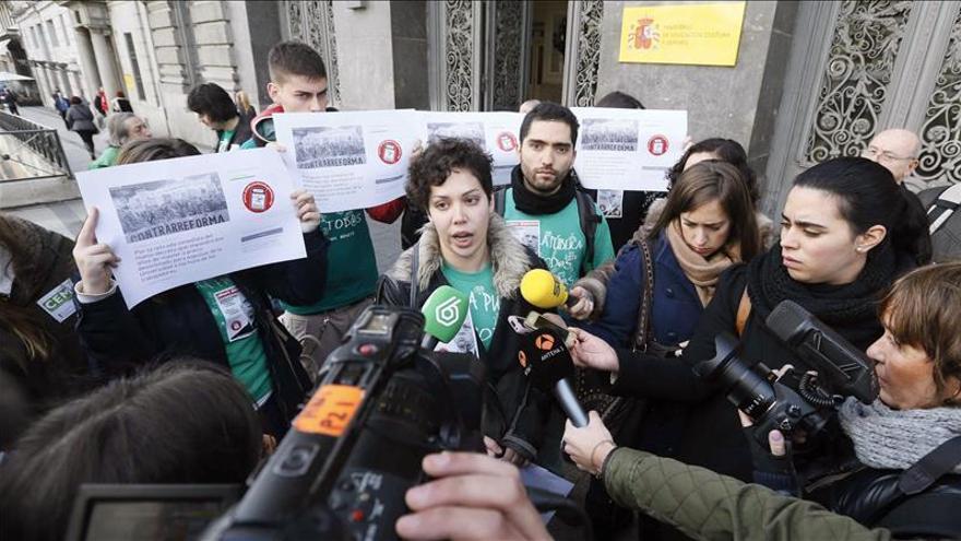 El Sindicato de Estudiantes reúne más de 108.000 firmas contra el decreto sobre grados