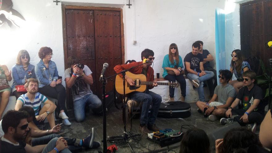 La banda Aurora en un acústico en RIT/MO 2013.