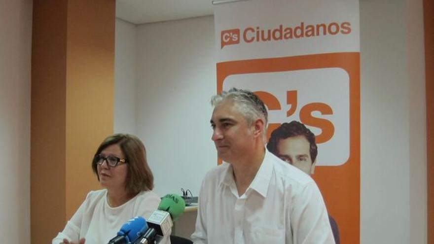 La concejal y portavoz de Ciudadanos, María Antonia Sanmartín