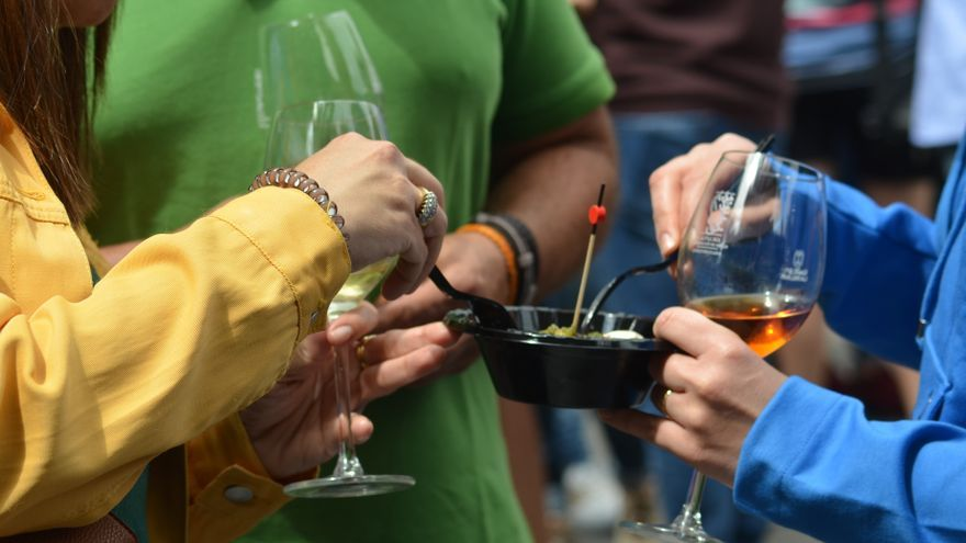 Imagen de archivo de la Feria del Vino de Santa Cruz de La Palma.
